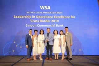SCB nhận giải thưởng về hoạt động vận hành giao dịch thẻ tại nước ngoài