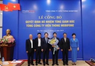 Ông Tô Mạnh Cường giữ chức vụ Tổng giám đốc MobiFone