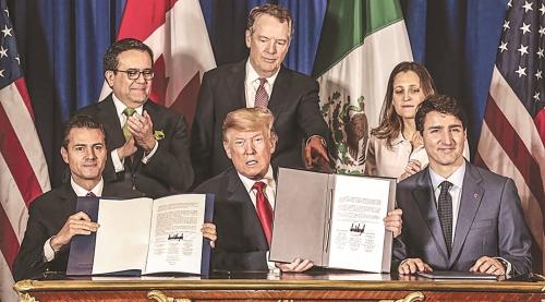 Mỹ, Canada và Mexico thúc đẩy hoàn tất Hiệp định USMCA