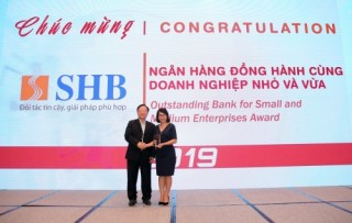 SHB: Ngân hàng tiêu biểu vì cộng đồng và đồng hành cùng DNNVV