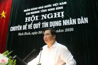 Hệ thống Quỹ tín dụng nhân dân tỉnh Ninh Bình: Tăng cường vai trò quản lý nhà nước của địa phương