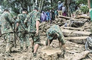 Thiên tai gây thiệt hại thảm khốc tại Quảng Nam
