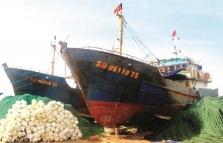 Tháo gỡ gấp nợ xấu cho vay tàu cá