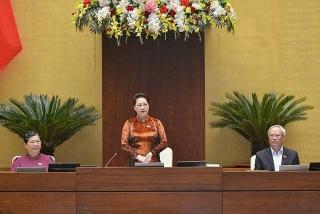 Chủ tịch Quốc hội: Tăng cường hiệu quả, chất lượng đầu tư;đẩy mạnh giải ngân đầu tư công