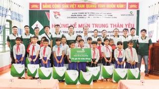 Vietcombank Thăng Long hướng về miền Trung