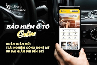 Liberty ra mắt Bảo hiểm ô tô trực tuyến tại Việt Nam