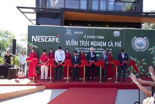 Khánh thành Vườn trải nghiệm cà phê NESCAFÉ WASI tại Tây Nguyên