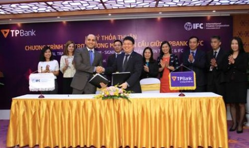 IFC hợp tác với TPBank mở rộng tài trợ thương mại