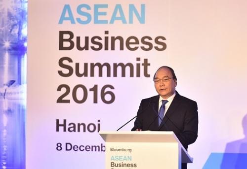 Thủ tướng Nguyễn Xuân Phúc dự Hội nghị Thượng đỉnh kinh doanh ASEAN 2016