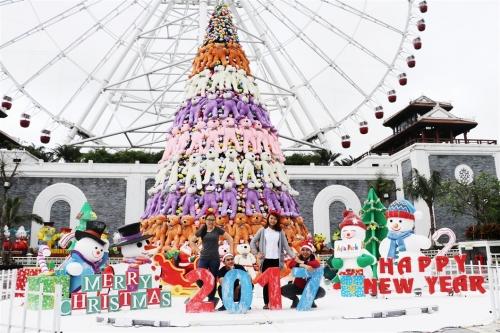 Vui giáng sinh, rinh quà lung linh tại Asia Park