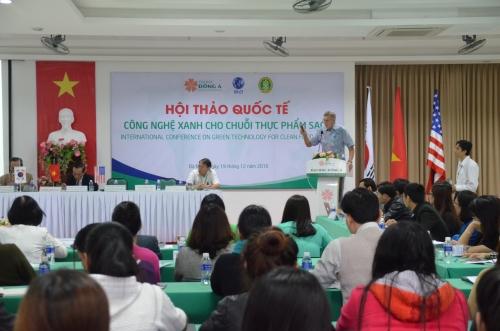 """Hội thảo quốc tế """"Công nghệ xanh cho chuỗi thực phẩm sạch"""""""