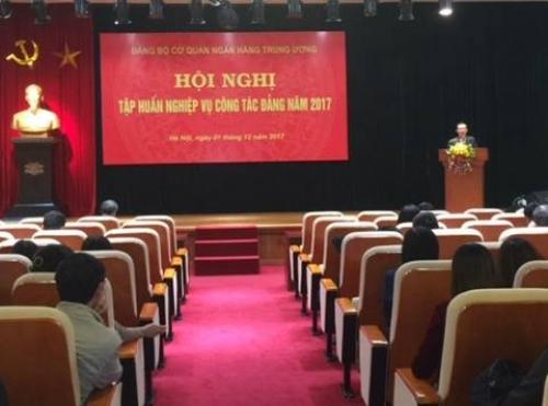 Hội nghị tập huấn nghiệp vụ công tác Đảng