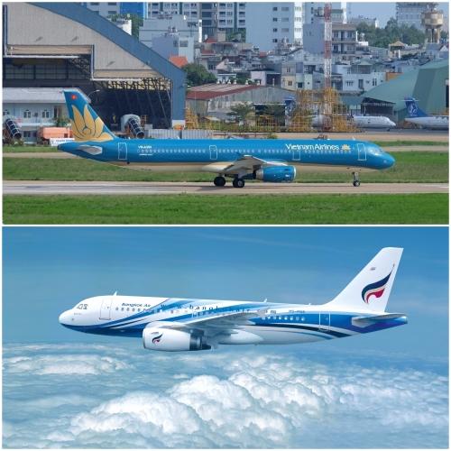 Vietnam Airlines  thỏa thuận hợp tác liên danh với Bangkok Airways