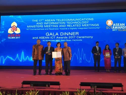 BIDV Payment được vinh danh tại ASEAN ICT Awards 2017