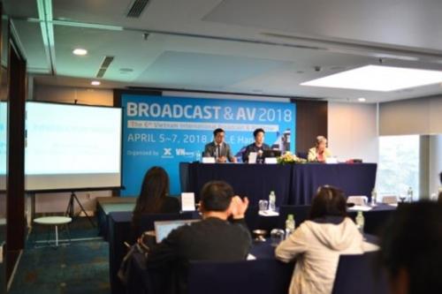 VIBA SHOW 2018: Nơi trình diễn những công nghệ mới nhất về ngành phát thanh truyền hình