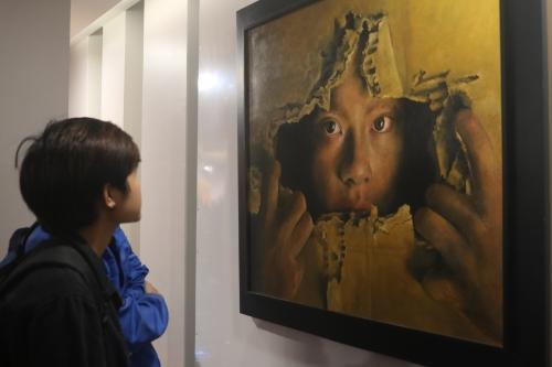 """Triển lãm tranh""""Mỹ thuật Đà Nẵng 2017"""": Đem đến một luồng gió mới"""