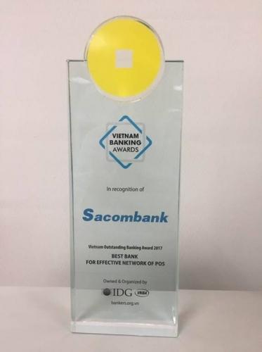 Sacombank có mạng lưới đơn vị chấp nhận thẻ hiệu quả nhất