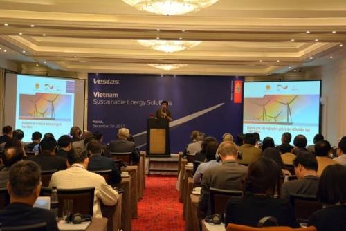 Vestas và THC hợp tác thúc đẩy phát triển các trang trại điện gió