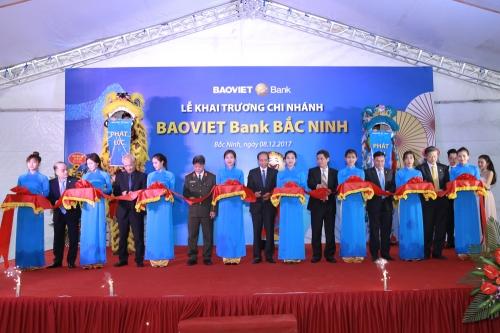 BAOVIET Bank khai trương chi nhánh đầu tiên tại Bắc Ninh