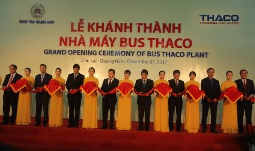 Khánh thành nhà máy Bus Thaco