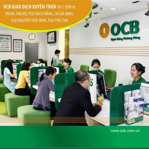 OCB tiếp tục nâng cao chất lượng phục vụ khách hàng