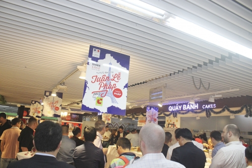 Big C giảm giá nhiều mặt hàng tại Tuần lễ Pháp 2017