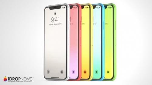 Hình dung về iPhone X phiên bản nhiều màu, giá rẻ