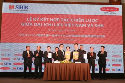Ưu đãi lớn cho khách hàng mua bảo hiểm Dai-ichi qua hệ thống SHB