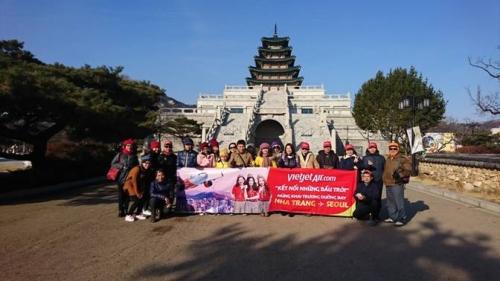 Vietjet khai trương đường bay thứ 5 đến Seoul (Hàn Quốc)