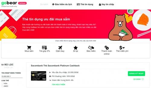 GoBear Việt Nam đạt gần 1 triệu lượt truy cập sau 1 năm hoạt động