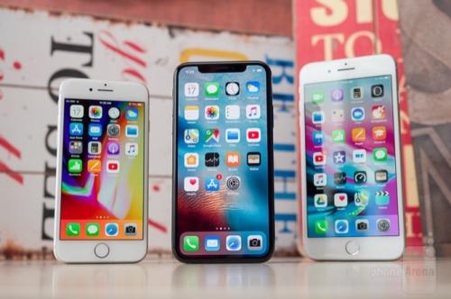 Trước khi iPhone X bán ra, iPhone 8 là điện thoại bán chạy nhất tháng 10