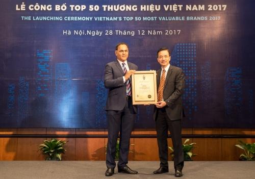 MobiFone - Top 10 thương hiệu giá trị nhất Việt Nam