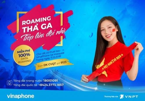 Vinaphone tuyên bố thưởng 1 tỷ đồng cho đội tuyển Việt Nam