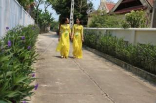 Huyện Nghi Xuân (Hà Tĩnh) được công nhân đạt chuẩn nông thôn mới