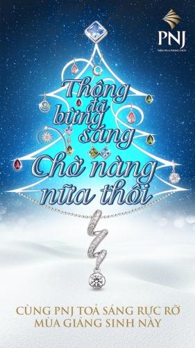 PNJ ưu đãi mùa Giáng sinh