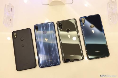 4 smartphone Vsmart chính thức ra mắt với giá từ 2,5 đến 6,3 triệu đồng
