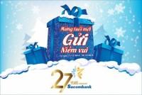 Sacombank khuyến mãi lớn trong tháng sinh nhật