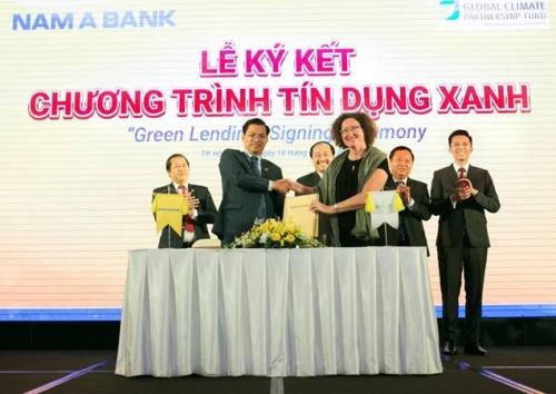 Nam A Bank triển khai tín dụng xanh