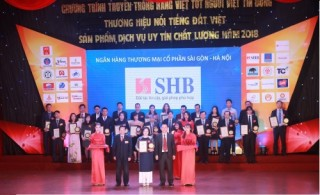 SHB tiếp tục được vinh danh bằng nhiều giải thưởng uy tín