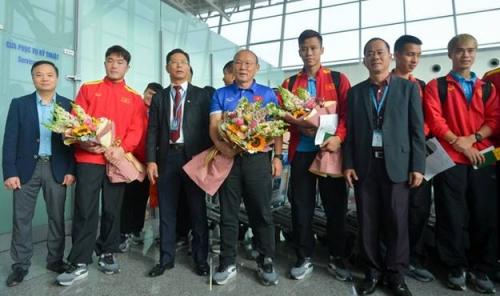 Trước giờ Đội tuyển Việt Nam lên đường tham dự AFC Asian Cup 2019