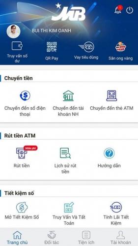 Thuận tiện khi thanh toán bằng QR Code trên App Ngân hàng MBBank