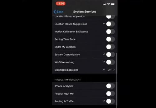 Tắt dịch vụ định vị iPhone 11 không ngăn được Apple theo dõi bạn