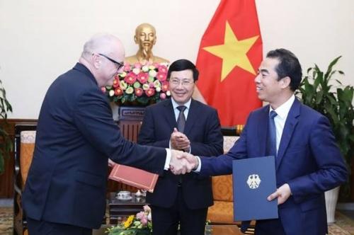 Việt Nam – Đức tăng cường quan hệ hợp tác