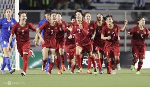 HDBank thưởng 500 triệu đồng cho đội tuyển bóng đá nữ Việt Nam
