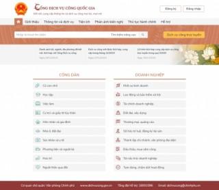 Khai thác dữ liệu thủ tục hành chính của NHNN trên Cổng dịch vụ công quốc gia