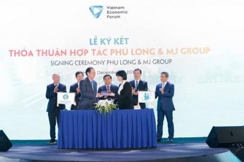 Phú Long hợp tác cùng MJ Group