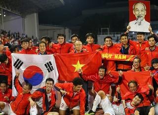 Các ngân hàng thưởng lớn cho đội tuyển bóng đá Việt Nam sau vô địch SEA Games 30