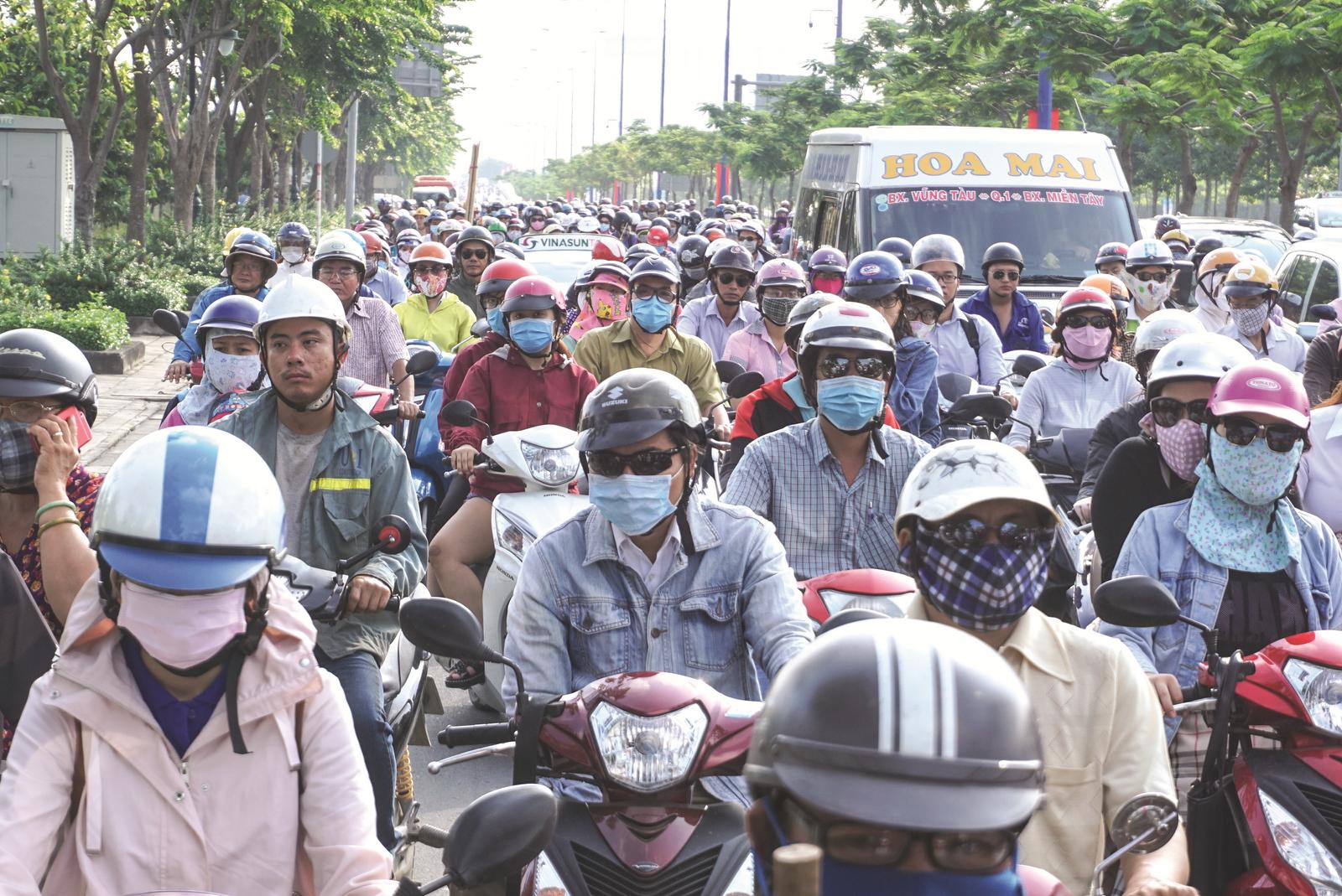 Tìm giải pháp giảm ô nhiễm cho TP.Hồ Chí Minh