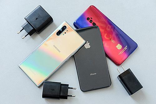 smartphone 2019 dua sac nhanh