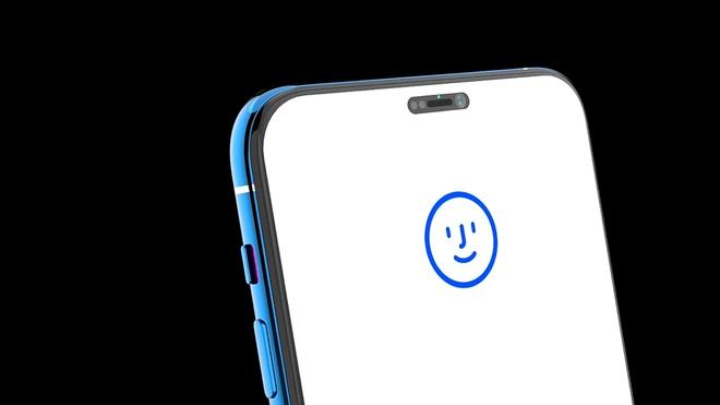 iphone 12 voi face id duc lo van tay duoi man hinh trong ra sao